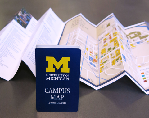 U-M Pocket Map
