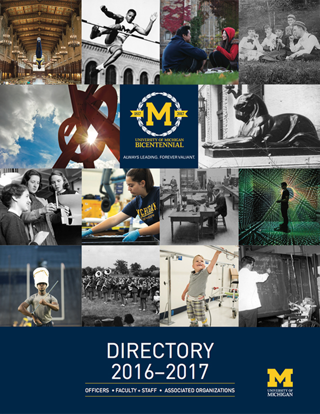 2016–17 Faculty/Staff Directory